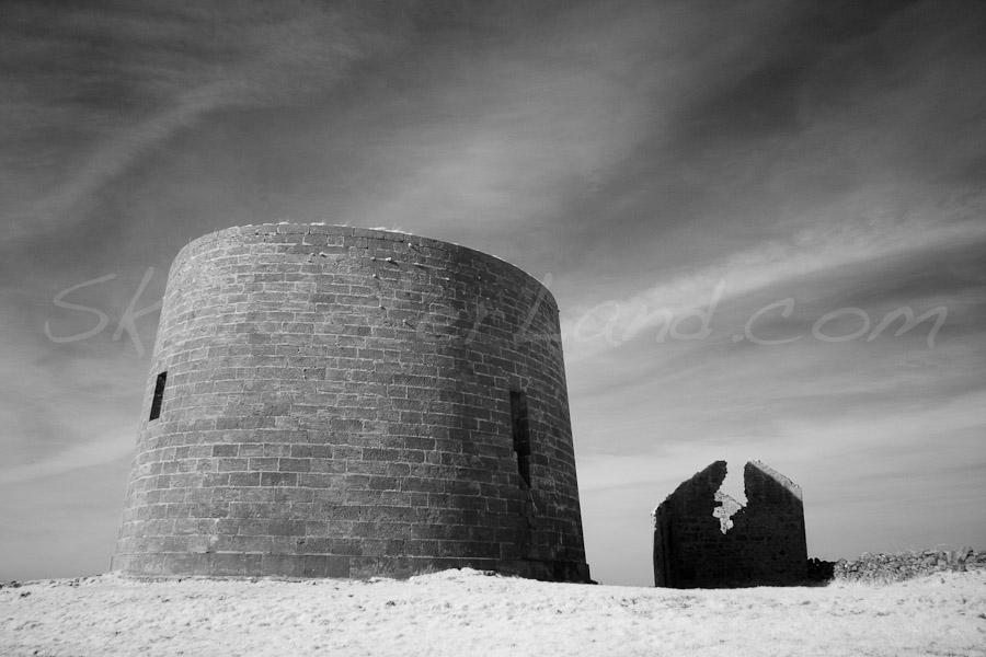 <strong>Title: </strong>Martello Infrared<br /><strong>Filename:</strong>MartelloTower_170309_007<br /><strong>Image Reference Number: </strong>swl042